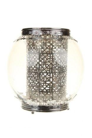 Sfeșnic, Culoare Alb, Sticlă, metal, Preț 126,58 Lei