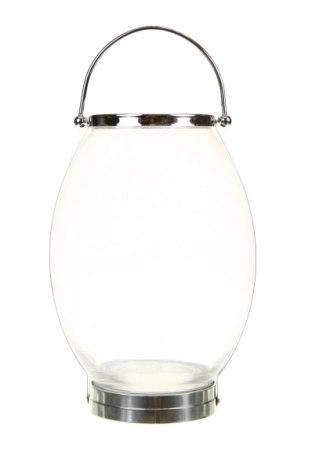 Sfeșnic felinar, Culoare Alb, Sticlă, Preț 192,79 Lei