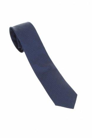 Γραβάτα Pierre Cardin, Χρώμα Μπλέ, 100% μετάξι, Τιμή 15,21€