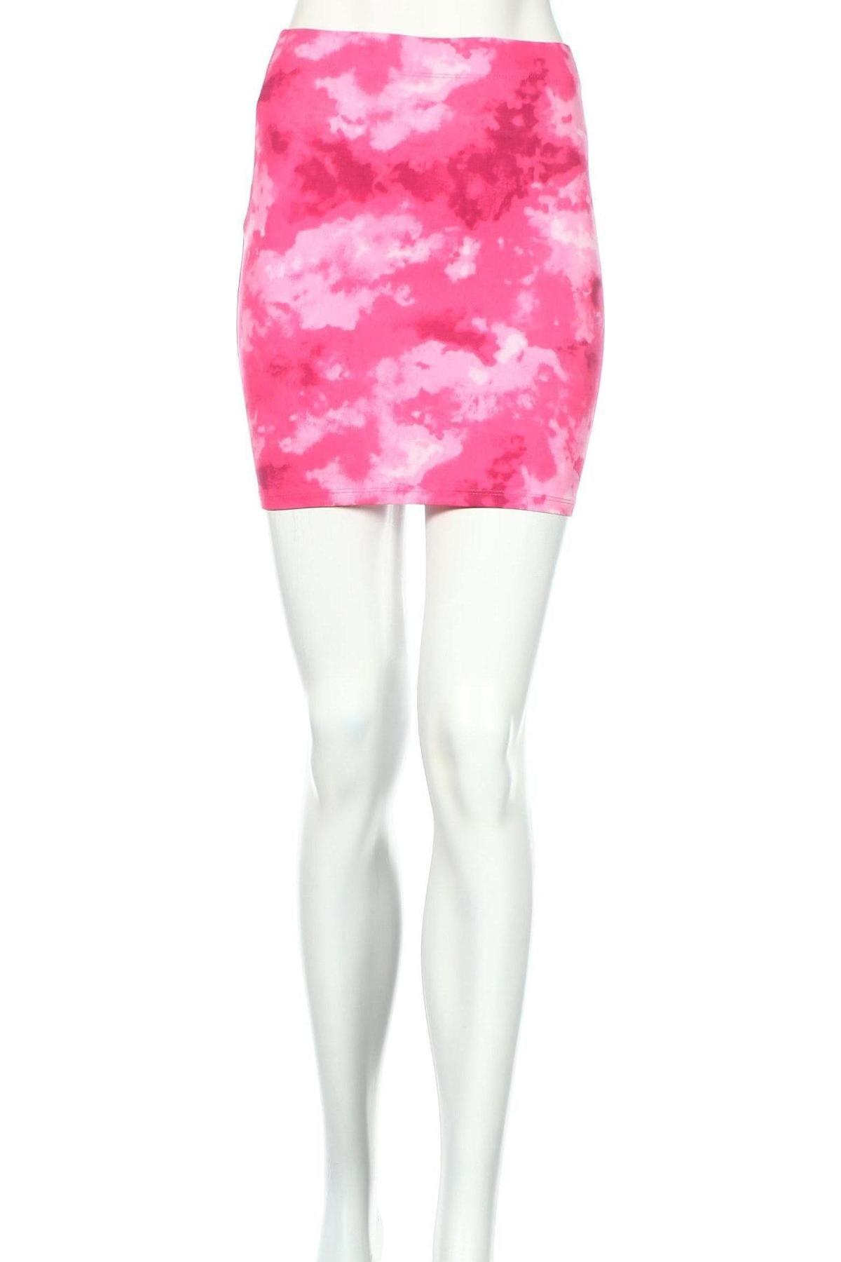 Пола Clockhouse, Размер XS, Цвят Розов, 95% памук, 5% еластан, Цена 9,36лв.
