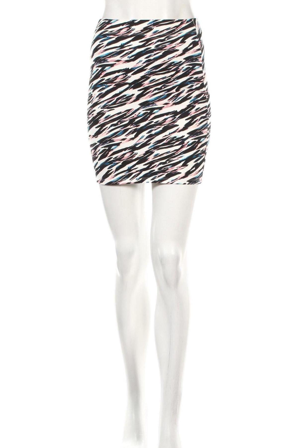 Φούστα Clockhouse, Μέγεθος XS, Χρώμα Πολύχρωμο, 95% βαμβάκι, 5% ελαστάνη, Τιμή 3,79€