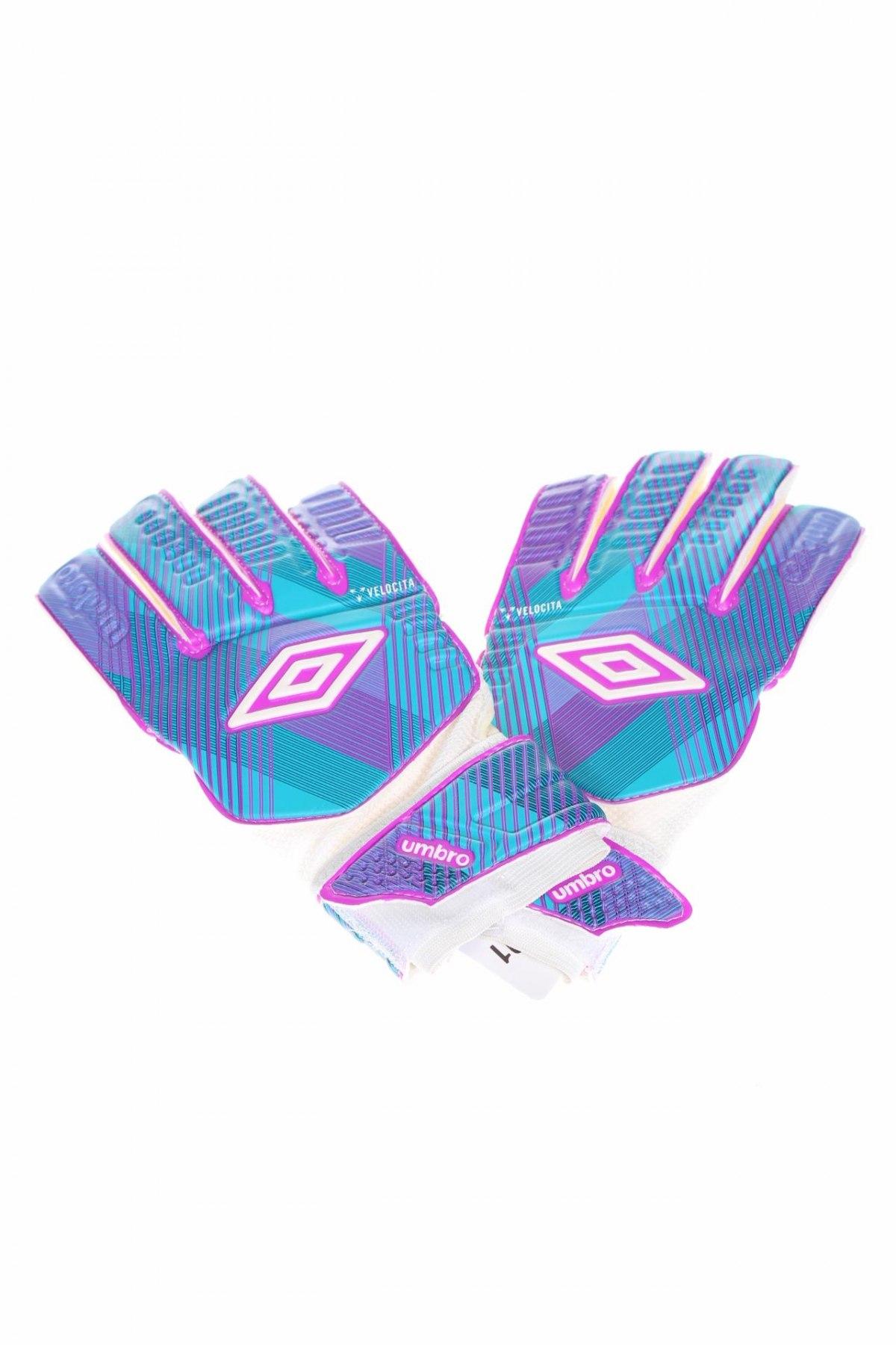 Ръкавици за футбол Umbro, Цвят Многоцветен, Полиестер, полиамид, полиуретан, други материали, Цена 18,90лв.