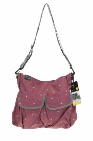 Τσάντα Walking Mum, Χρώμα Ρόζ , Κλωστοϋφαντουργικά προϊόντα, Τιμή 12,81€