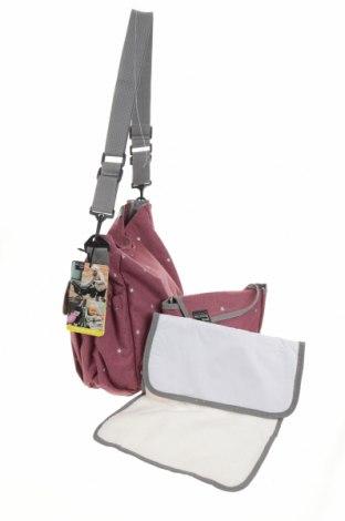 Τσάντα Walking Mum, Χρώμα Ρόζ , Κλωστοϋφαντουργικά προϊόντα, Τιμή 26,68€