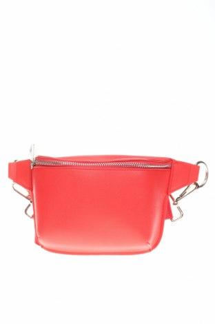 Τσάντα Bershka, Χρώμα Κόκκινο, Δερματίνη, Τιμή 10,17€
