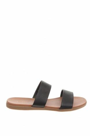 Papuci New Look, Mărime 37, Culoare Negru, Piele ecologică, Preț 62,00 Lei