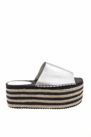 Pantofle Shellys, Velikost 41, Barva Stříbrná, Pravá kůže, Cena  1173,00Kč