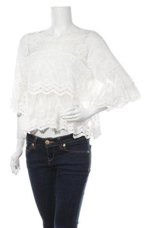 Дамска блуза Ally, Размер L, Цвят Екрю, 95% полиестер, 5% вискоза, Цена 10,36лв.