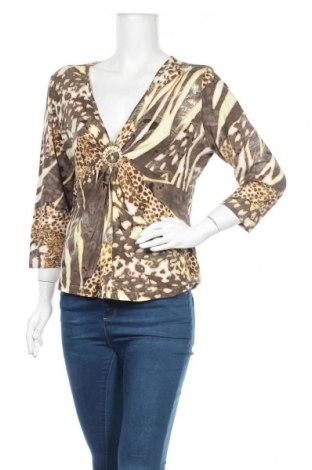 Дамска блуза Apriori, Размер M, Цвят Многоцветен, 98% вискоза, 2% еластан, Цена 4,46лв.