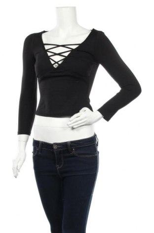 Дамска блуза Ava & Ever, Размер M, Цвят Черен, 87% полиамид, 13% еластан, Цена 11,02лв.