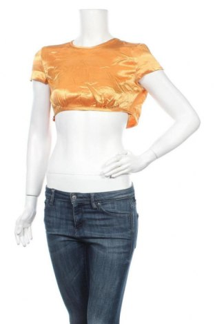 Дамска блуза Bardot, Размер M, Цвят Жълт, Вискоза, Цена 3,00лв.