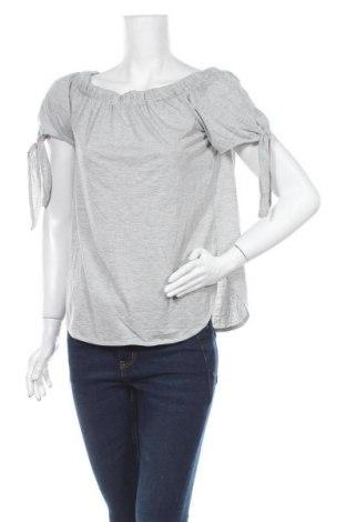 Дамска блуза Bardot, Размер S, Цвят Сив, 70% полиестер, 30% вискоза, Цена 3,00лв.