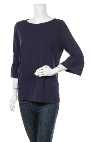 Дамска блуза Christian Berg, Размер L, Цвят Син, 92% вискоза, 8% еластан, Цена 16,07лв.