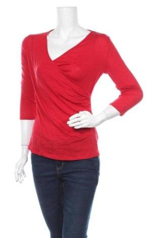 Дамска блуза David Lawrence, Размер M, Цвят Червен, Вълна, Цена 31,92лв.