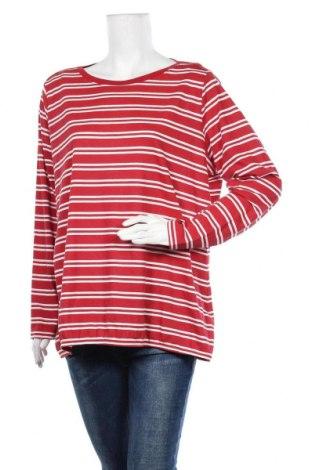 Дамска блуза Essentials by Tchibo, Размер XXL, Цвят Червен, 70% памук, 30% полиестер, Цена 14,18лв.