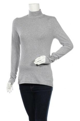 Дамска блуза Hot Options, Размер M, Цвят Сив, Памук, еластан, Цена 5,67лв.