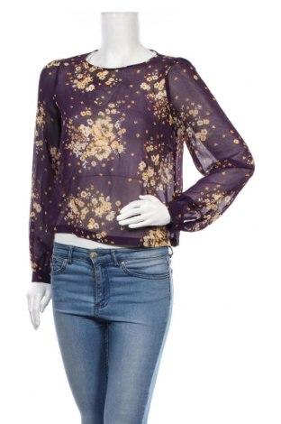Дамска блуза Hot Options, Размер M, Цвят Лилав, Полиестер, Цена 5,67лв.