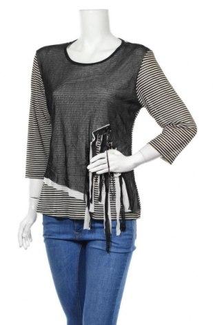 Дамска блуза Lilia, Размер L, Цвят Черен, Полиестер, Цена 15,12лв.