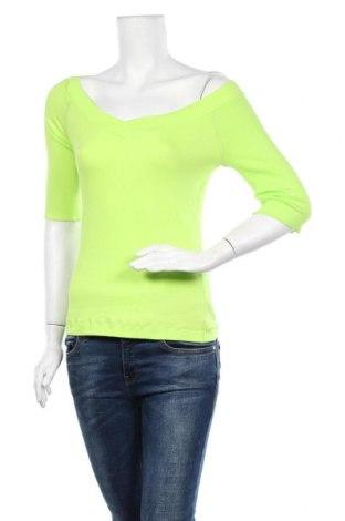 Γυναικεία μπλούζα Marc Cain, Μέγεθος M, Χρώμα Πράσινο, 94% βαμβάκι, 6% ελαστάνη, Τιμή 61,47€