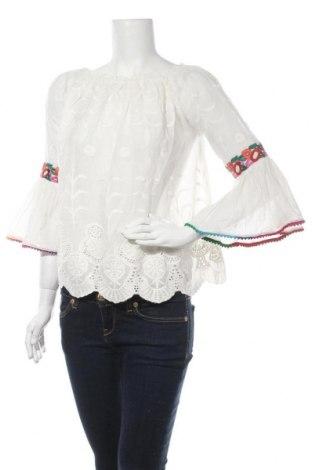 Γυναικεία μπλούζα Peace + Love, Μέγεθος S, Χρώμα Λευκό, Βαμβάκι, Τιμή 22,81€