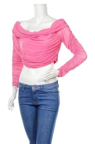 Дамска блуза Showpo, Размер M, Цвят Розов, 95% полиестер, 5% еластан, Цена 14,28лв.