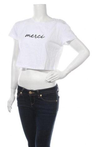 Дамска блуза Showpo, Размер S, Цвят Бял, 65% памук, 35% полиестер, Цена 24,10лв.