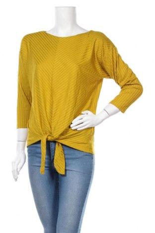 Γυναικεία μπλούζα Suzanne Grae, Μέγεθος M, Χρώμα Κίτρινο, 60% πολυεστέρας, 37% βισκόζη, 3% ελαστάνη, Τιμή 3,62€