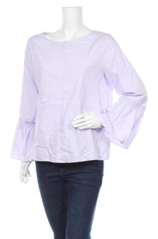 Дамска блуза Violeta by Mango, Размер M, Цвят Лилав, Памук, Цена 47,88лв.
