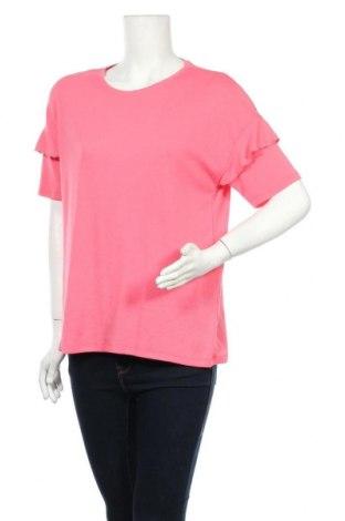 Дамска блуза Vrs Woman, Размер L, Цвят Розов, 65% полиестер, 35% вискоза, Цена 3,00лв.