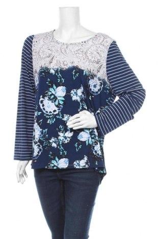 Дамска блуза W. Lane, Размер XL, Цвят Многоцветен, 95% полиестер, 5% еластан, Цена 6,99лв.
