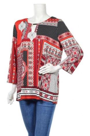 Дамска блуза W. Lane, Размер XL, Цвят Многоцветен, 95% полиестер, 5% еластан, Цена 19,32лв.