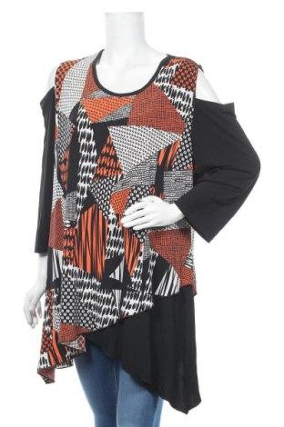 Дамска блуза Wishstone, Размер XXL, Цвят Многоцветен, Памук, полиестер, Цена 16,07лв.
