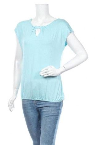 Дамска блуза Zero, Размер M, Цвят Син, 95% вискоза, 5% еластан, Цена 3,00лв.