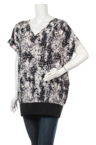 Дамска блуза Zizzi, Размер XL, Цвят Многоцветен, 92% полиестер, 8% еластан, Цена 5,99лв.
