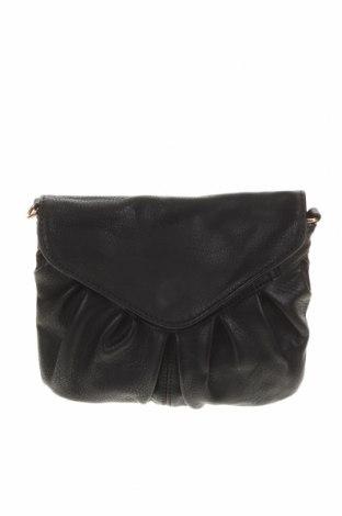 Дамска чанта, Цвят Черен, Еко кожа, Цена 21,32лв.