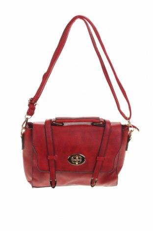 Дамска чанта, Цвят Червен, Еко кожа, Цена 24,38лв.