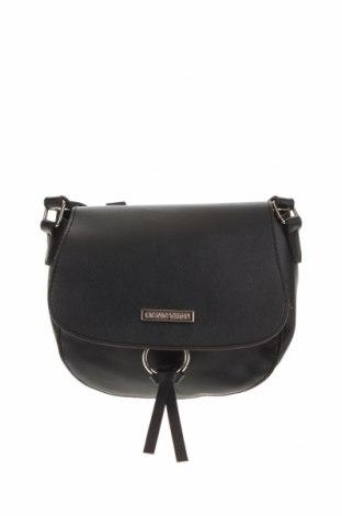 Дамска чанта, Цвят Черен, Еко кожа, Цена 19,32лв.