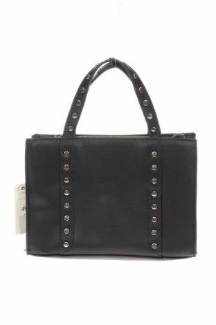 Γυναικεία τσάντα Bershka, Χρώμα Μαύρο, Δερματίνη, Τιμή 15,08€