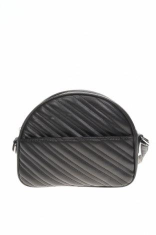 Γυναικεία τσάντα Bershka, Χρώμα Μαύρο, Δερματίνη, Τιμή 9,57€