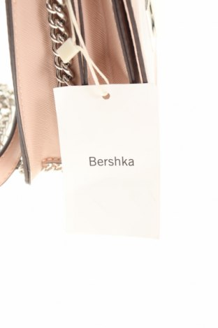 Γυναικεία τσάντα Bershka, Χρώμα Ρόζ , Δερματίνη, Τιμή 12,37€
