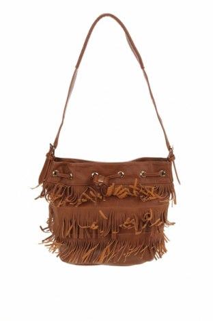 Дамска чанта Colette By Colette Hayman, Цвят Кафяв, Еко кожа, Цена 21,32лв.