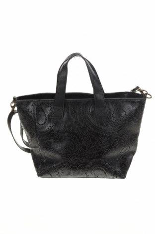 Γυναικεία τσάντα Firenze Artegiani, Χρώμα Μαύρο, Γνήσιο δέρμα, Τιμή 138,79€