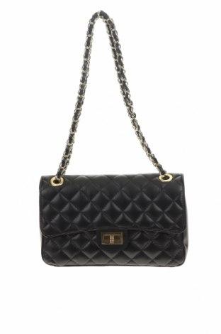 Γυναικεία τσάντα Firenze Artegiani, Χρώμα Μαύρο, Γνήσιο δέρμα, Τιμή 131,06€