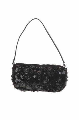 Damska torebka Mango, Kolor Czarny, Materiał tekstylny, Cena 52,80zł