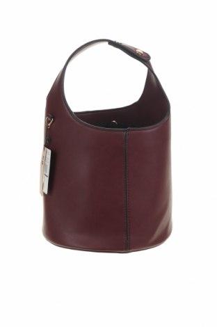 Γυναικεία τσάντα Mango, Χρώμα Κόκκινο, Δερματίνη, Τιμή 22,81€