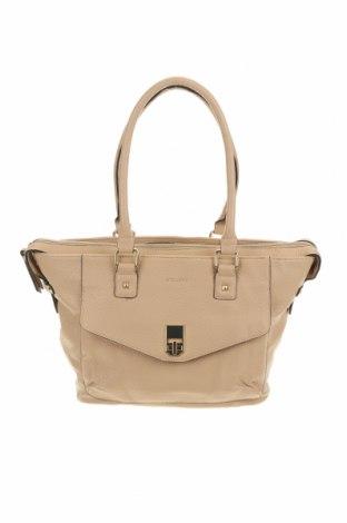 Дамска чанта Milleni, Цвят Бежов, Еко кожа, Цена 20,48лв.