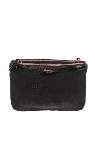 Дамска чанта Mimco, Цвят Черен, Текстил, Цена 101,59лв.