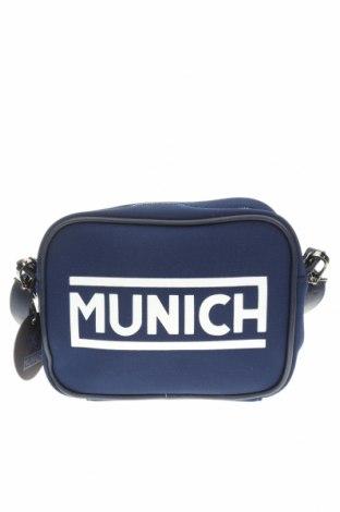 Γυναικεία τσάντα Munich, Χρώμα Μπλέ, Κλωστοϋφαντουργικά προϊόντα, Τιμή 17,78€