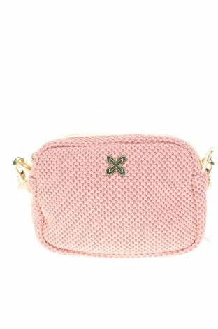 Γυναικεία τσάντα Munich, Χρώμα Ρόζ , Κλωστοϋφαντουργικά προϊόντα, δερματίνη, Τιμή 21,65€
