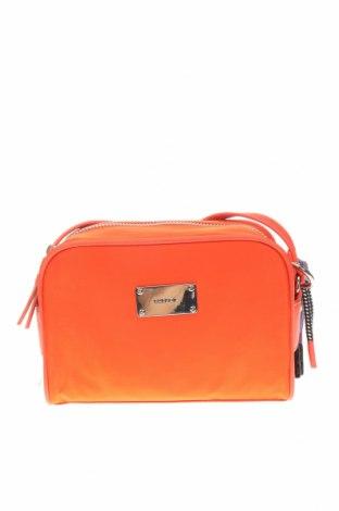 Дамска чанта Parfois, Цвят Оранжев, Текстил, еко кожа, Цена 36,75лв.